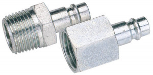 "Coupleur d'air insert mâle fileté 1/4"" mâle"