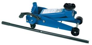 Cric roulant pro 3 tonnes levage 135 à 505mm avec pédale quick lift