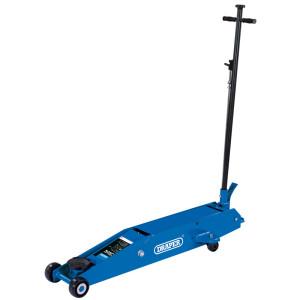 Cric roulant pro 5 tonnes levage 160 à 560mm avec pédale quick lift