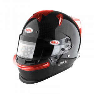 Extracteur d'air latéral casque Bell HP7/RS7/RS7K - 2 pcs transparente