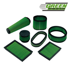 Filtre à air Green Peugeot 405 1,9L Mi 16V/Bx 1,9L GTI 16S plat 328x15