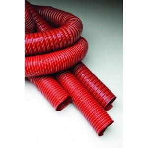 Gaine ventilation / refroidissement Venair - diamètre 120 - rouge - 1m