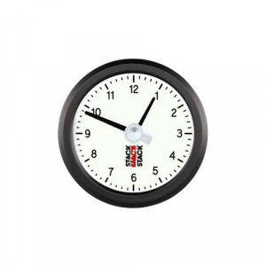 Horloge à aiguilles Stack 12h Blanc
