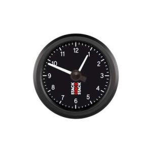 Horloge à aiguilles Stack 12h Noir