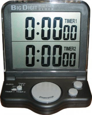 Horloge Big Digit double affichage Jumbo Timer