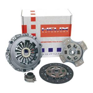 Kit embrayage Helix Sporting Mitsubishi Evo 4/5/6 601 Nm cérametal