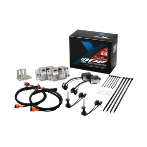 Kit IPF conversion HID Xenon 2 phares H4M 12V 35W 6000K XD65