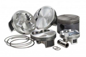Kit pistons forgés wossner Fiat UNO-TURBO diam 81.00 - 1389 cm3