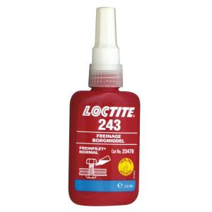 Loctite 243 Freinfilet normal bleu 24ml