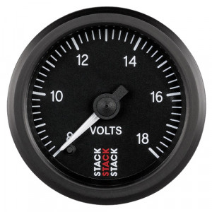 Mano voltmètre Stack 8/18V Noir Affichage sur 270°
