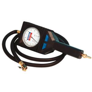 Manomètre controleur gonfleur pneus Schrader Mast'Air  0.7-12 bars