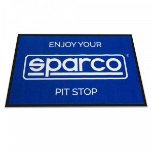 Paillasson Sparco - Enjoy your Sparco Pit Stop