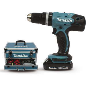 Perceuse visseuse à percussion Makita 18v li-Ion diamètre 13mm