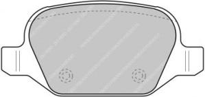 Plaquettes de frein Ferodo DS Perf ALFA ROMEO 147 156 GT ar FDS1349