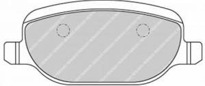 Plaquettes de frein Ferodo DS Perf ALFA ROMEO 159 07> Arrière FDS1795