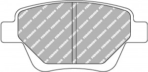 Plaquettes de frein Ferodo DS Perf AUDI A3 Cabrio TFSi 8v AN 03-10>