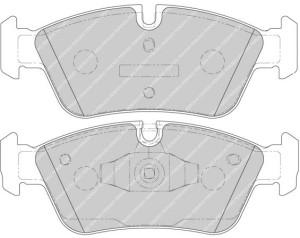 Plaquettes de frein Ferodo DS Perf BMW 1 04>07 Avant FDS1751