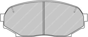 Plaquettes de frein Ferodo DS Perf MAZDA MX-5 I 03>04 Avant FDS653