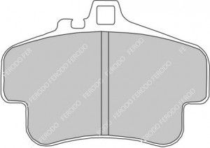 Plaquettes de frein Ferodo DS Perf Porsche 996 GT3 3.6 Av FDS1435