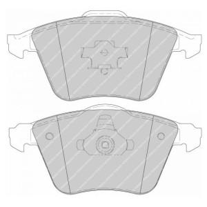 Plaquettes de frein Ferodo DS Perf Seat Leon II 2.0 TFSI FDS1765