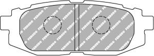 Plaquettes de frein Ferodo DS Perf SUBARU BRZ 2.000 2,0 L