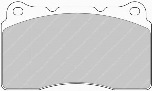 Plaquettes de frein Ferodo DS Perf SUBARU Liberty 2.0 Sti  AN 01-06 >