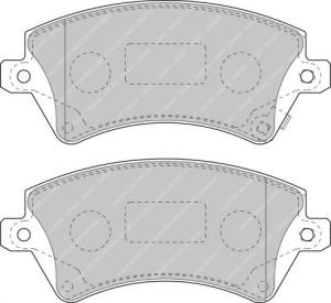 Plaquettes de frein Ferodo DS Perf TOYOTA Corolla Estate 04>AV FDS1573