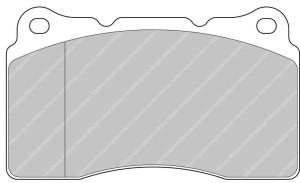 Plaquettes Ferodo DS1.11 FCP1334 Citro C2 R2 Chall. Megane 3/4 RS Av