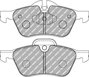 Plaquettes Ferodo DS1.11 FCP1499 MINI MK1 1.4 One 06-03 > 02-07