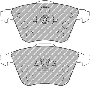 Plaquettes Ferodo DS1.11 FCP1706 Ford Focus ST 225 2005> Av