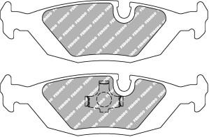 Plaquettes Ferodo DS1.11 FCP296 BMW Ar E23 E24 E28 E30 E34