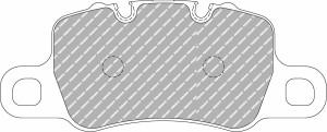 Plaquettes Ferodo DS1.11 PORSCHE 911 (991) 3.8 GT3 AN 08-13 > AR