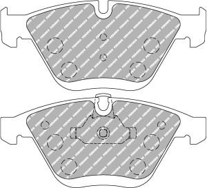 Plaquettes Ferodo DS2500 BMW 3 320d Coupe 2.0 AN 02-07 > 12-11 AV