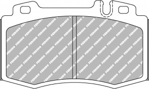 Plaquettes Ferodo DS2500 FCP1661 Mercedes AV Etriers Brembo