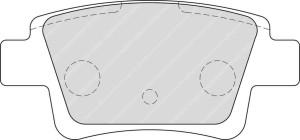 Plaquettes Ferodo DS2500 FCP1858 Fiat Grande Punto Abarth AR