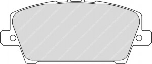 Plaquettes Ferodo DS2500 FCP1859 Honda Civic MK7 AV sauf type R