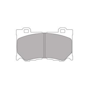 Plaquettes Ferodo DS2500 FCP4168 Nissan 370 Z Av 01 09-->