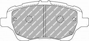 Plaquettes Ferodo DS2500 FORD Fiesta 1.6 Ti AN 09-12 > AV
