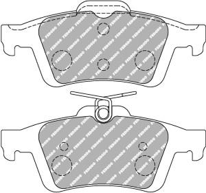 Plaquettes Ferodo DS2500 JAGUAR XK Coupe 4.2 AN 08-06 > AR