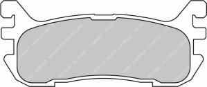 Plaquettes Ferodo DS2500 MAZDA Miata 1.8 01-94 AN > 01-03