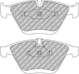 Plaquettes Ferodo DS3000 BMW M3 Coupe M3 AN 03-07 >