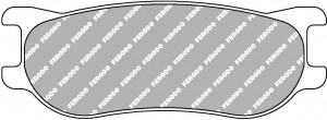 Plaquettes Ferodo DS 1.11 FRP3092 Formule Renault 2.0 '13 Av/Ar (PFC)