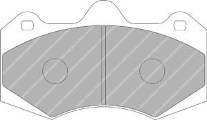 Plaquettes Ferodo DS 2500 FRP3084 Seat Leon Mk1/2 SuperCopa Av