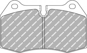 Plaquettes Ferodo DS UNO FCP1561 Nissan 350Z 3.5 V6 24v Av
