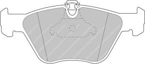 Plaquettes Ferodo DSUNO FCP1073 Bmw E46 M3 - 330 D Av X3 3.0 Av
