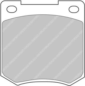 Plaquettes Ferodo DSUNO FCP810 Citroen Saxo C2 S1600, DS3 R3 Ar