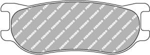 Plaquettes Ferodo DSUNO FRP3092 Formule Renault 2.0 '13 Av/Ar (