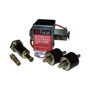 Pompe à essence Facet BP transistorisée sans clapet - 121 l/h - kit