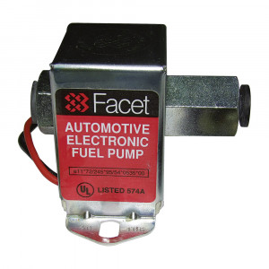 Pompe à essence Facet BP transistorisée sans clapet - 95 l/h - seule