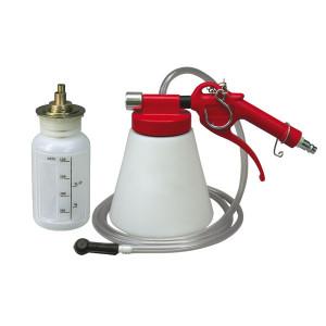 Purgeur pneumatique 1000 ml et réservoir nouveau liquide 500ml